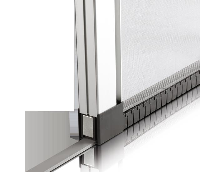 Mosquiteras de aluminio zaragoza enrollables fijas for Mosquitera por metros