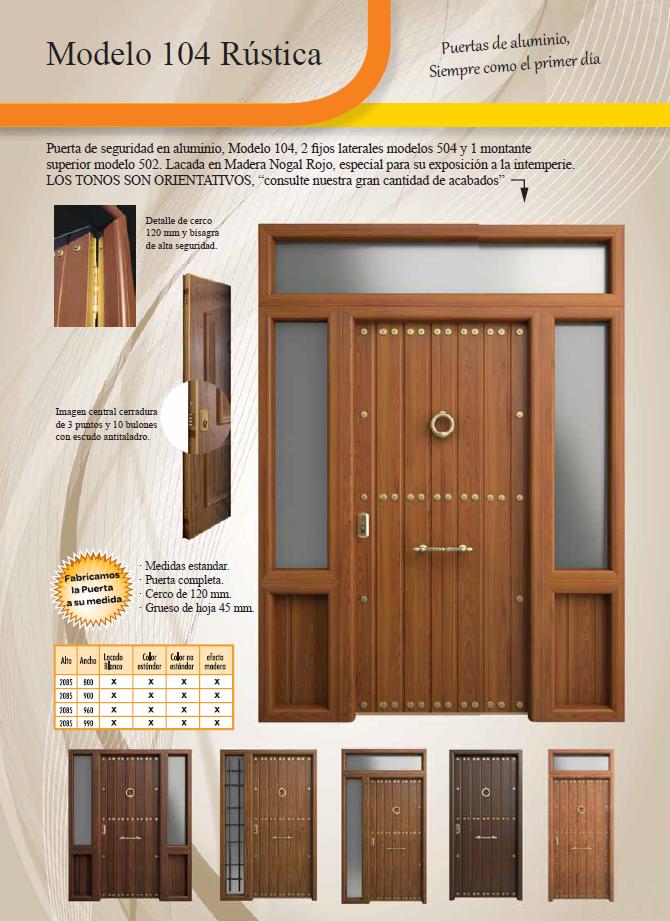 Puertas vivienda zaragoza puerta de entrada a vivienda for Puertas de entrada de madera baratas